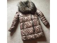 River Island Winter Coat Size 12