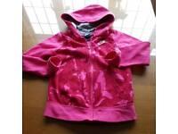 Genuine Nike Extra Small Pink pattern hoodie