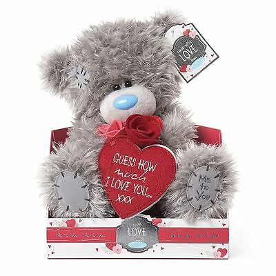 "Me to You 9"" Guess How Much I Love You Valentines Plush Gift - Tatty Teddy Bear"