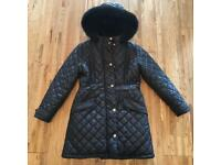Girls Ted Baker winter coat age 10 in excellent condition
