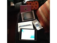 Apple iPad Mini as New Condition Boxed With Booklets Charger Screen Protector plus 2 Cases,