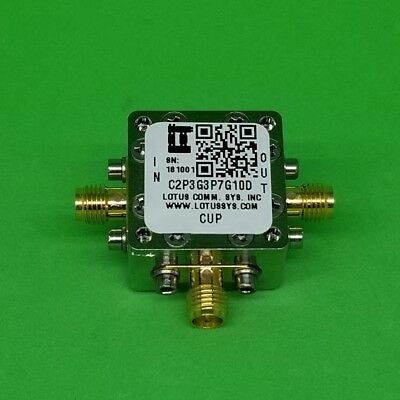 Directional Coupler 2.3 Ghz To 3.7 Ghz 10db 2w Low Insertion Loss