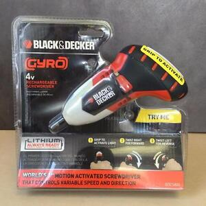 Black & Decker Gyro BDCS40G Rechargeable Screwdrivers 4V