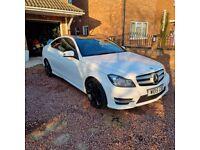 Mercedes-Benz, C CLASS, Coupe, 2015, Semi-Auto, 2143 (cc), 2 doors