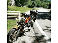 Looking for a big garage or a workshop where we could work on Motorcycles