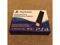 Sony PlayStation DualShock 4 USB Wireless Adapter for PC and Mac
