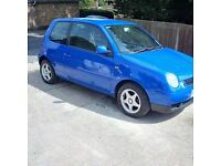 VOLKSWAGON LUPO 1.4 2000. M.O.T AUGUST 2017
