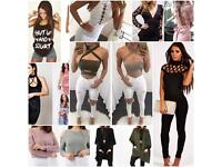 WOMEN AND CHILDRENS CLOTHING