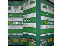 SIGNED CELTIC FC SHIRTS AND PHOTOGRAPHS