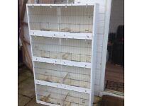 Bird cage breeding box