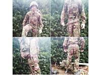 British Military jacket combat woodland dp