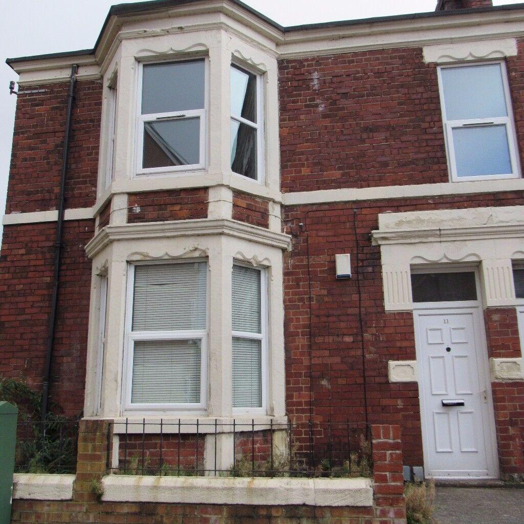 3 Bedroom Ground Floor Flat, Deuchar Street, Jesmond,