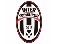 Football trials for new players with Inter Edinburgh FC