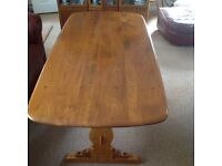 Ercol Dining Table, £130.00