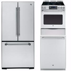 PRO STYLE TRIO - NEW - STAINLESS – fridge+range+dishwasher