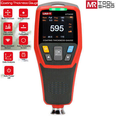 Uni-t Portable Digital Painting Thickness Meter Car Coating Gauge Auto Tester