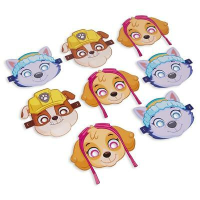 Paw Patrol Girls Masks Party Accessory 8 Per Per Package 3 Styles NEW](Paw Patrol Masks)