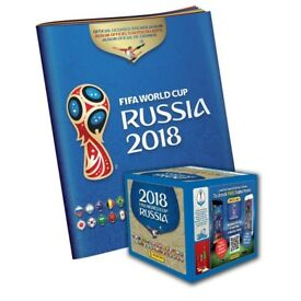 Panini World Cup 2018 stickers
