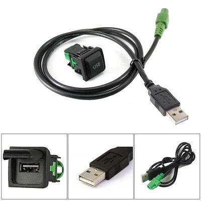 Aftermarket Standard Factory Fit USB Port & Socket Fitting Switch Adaptor For VW