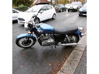 TRIUMPH BONNEVILLE 2006 790 CARB 9,600 MILES