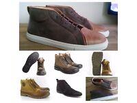 JOBLOT new men's leather footwear new