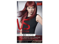 Vidal Sassoon Salonist Hair Colour - 5/45 Medium Intense Red Hair Dye- from a smoke free place