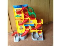 Fisher Price Little People Toy Car Ramp