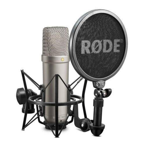 Rode NT1-A Studio Condenser Microphone Complete Vocal Recording Pack