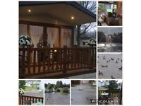 HAGGERSTON CASTLE caravan hire/rent CASTLE LAKE March £149 19-23rd 🌟🌟