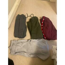 Bundle of women's tracksuit bottoms