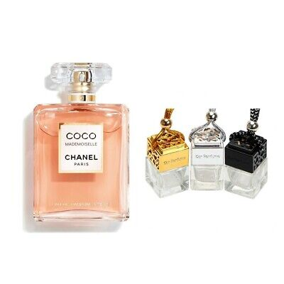 COCO Mademoiselle Inspired Car Air Freshener Scent Perfume Ornament Designer