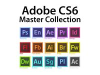 Adobe Creative Suite CS6 Master Collection 2 PC / 2 Mac