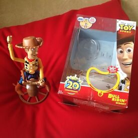 Toy Story Bull Ridin Woody - new condition