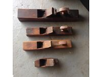 Vintage smoothing planes