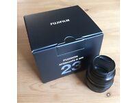 Fuji 23mm f2 R WR XF lens Fujinon X Series