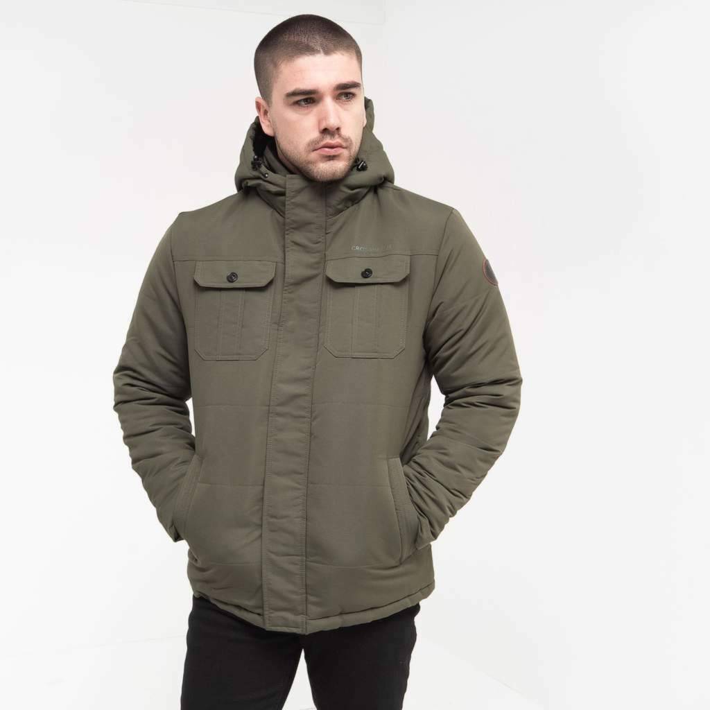 men s beekham quilted padded winter parka