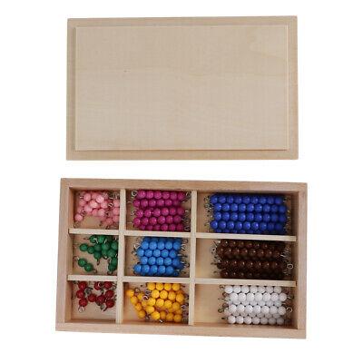 Apt Education Montessori Math Toy Stamp Game