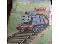 Thomas the Tank Engine Single Duvet Cover with Reversible Pillowcase and Curtains