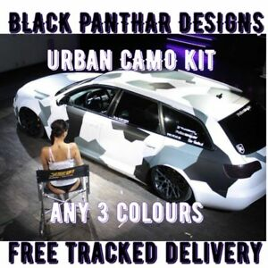 CAMO DECALS FULL CAR CAMOUFLAGE GRAPHICS NOT WRAP VINYL STICKERS FOR BONNET ROOF