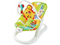 Fisher price folding bouncer chair