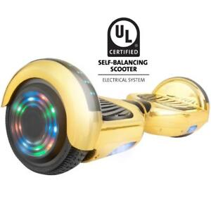 Summer special lamborghini hoveboard with Bluetooth and LED lights GOLD special. Samsung battery & self balance