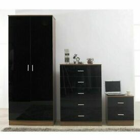 Designer Furniture -- Bed Room Set Alina 2 Doors Wardrobe In Diff Colors-Fastest Delivery