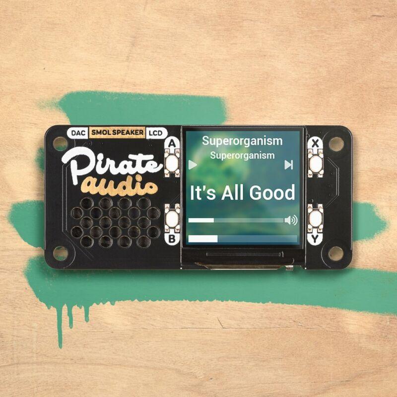 [3DMakerWorld] Pimoroni Pirate Audio Speaker for Raspberry Pi