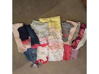 Baby girls clothes bundle 3-6 months