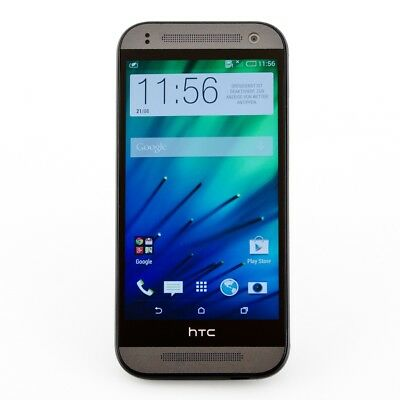 HTC One mini 2 16GB grau 13 Mpix Android Smartphone 4,5 Zoll Display