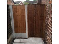 Side gate garden gate wooden gate