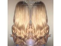 Hair Extensions/ Mobile Hairdresser / Private Salon/ nano ring/ tiny tips/ I Tips