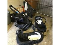 Kiddi Couture Baby Travel System Used Includes car seat, carry cot, pushchair.