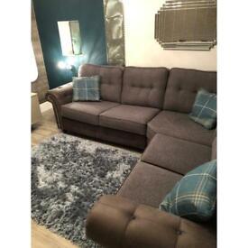 Large Corner couch sofa Grey