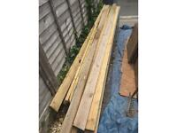 Decking planks - free collection